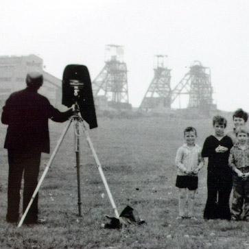 1968, durante le riprese nel nord della zona mineraria dell'Inghilterra